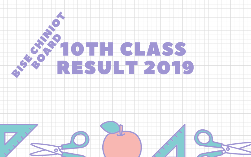 bise chiniot board 10th class result 2019