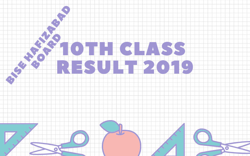 bise hafizabad board 10th class result 2019