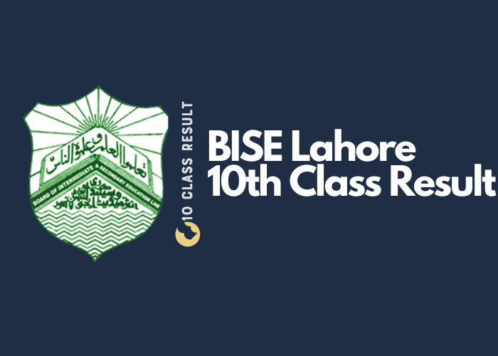 BISE Lahore 10th Class Result